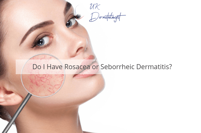 Rosacea or Dermatitis